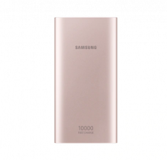 Batterie Externe 10 000mAh RoseGold Charge rapide IN/OUT Double port (USB Type C) Samsung EB-P1100CPEGWW