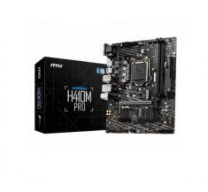 CM MSI H410M-PRO LGA 1200 micro ATX 2xDDR4 2xM.2 Socket 3 1xPCI 1xPCIe VGA / DVI-D / HDMI  7C89-007R