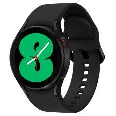 SAMSUNG Galaxy Watch4 40M - Bluetooth - Noir - Aluminium bracelet silicone OS Google Electro cardiogramme  pression sanguine design sport SM-R860NZKAXEF