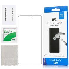 Verre Trempé pour Samsung Galaxy S21 - Film Protection écran Anti-Rayures - Anti-Bulles d'air Ultra Résistant - Dureté 9H Glass