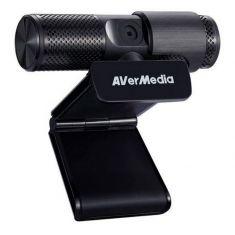 """AVERMEDIA Webcam USB FHD PW313 Capteur 1/2.7"""" CMOS, 2MP MJPEG YUY2 Distance: 40 cm - 100 cm Cable 1.5m 90 x 53 x 47 mm 40AAPW313ASF"""