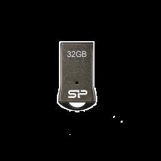 CLE USB SILICON POWER Touch T01 32GB METAL/PLASTIC NOIRE USB 2.0 Waterproof Dustproof SP032GBUF2T01V1K