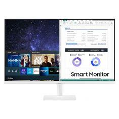 "ECRAN 32"" SAMSUNG LS32AM501NU Smart Monitor M5 - FHD VA - 8ms 250cd/m² 1000:1 - HDMI - USB - 60Hz Réglable en Inclinaison - Blanc"