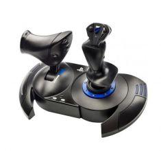 THRUSTMASTER T-FLIGHT HOTAS 4 PS4/PC Joystick + Manette des gaz détachable Gouvernail dble système rotation 5 axes+ 12 boutons 4160664