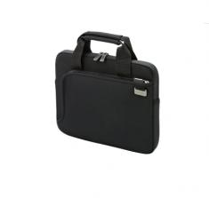 """DICOTA Sacoche smart skin Noir Pour PC portable 12-12.5"""" en neoprene elastique résistant tres legere pro tection optimale Doublure en Nylex"""