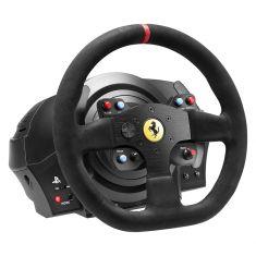 THRUSTMASTER Volant + pédalier T300 Ferrari Intégral Racing Wheel Alcantara