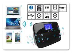 Enceinte Bluetooth - Multi-sources + Prise secteur (ACCHAD3E12B) offerte