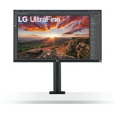 "ECRAN LG 27"" Noir 27UN880-B 16:9 UHD 5ms 3840×2160 350cd/m2 2xHDMI DisplayPort 2xUSB FreeSync HP 2x5W Rotation Inclinaison Pied Réglable"