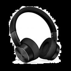 Lenovo Casque Yoga ANC Noir ss fil Suppression Active du bruit 800mAh Bluetooth 5.0 10m Cordon USB 1.3m Étui de transport GXD1A39963