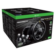THRUSTMASTER volant + pédalier TX Racing Wheel Leather edition