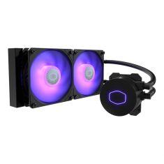 Ventilateur CoolerMaster LiquidLite ML 240L V2 RGB Watercooling LED Gamer - 2 Ventilateur de 120 mm MLW-D24M-A18PC-R2