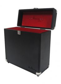 Rangement Vinyles - H.Vinylcase - Noir/Rouge