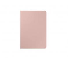 Book Cover Galaxy Tab S7 Brun 2 Positions Rangement S Pen Design Fin et Elegant SAMSUNG - EF-BT870PAEGEU