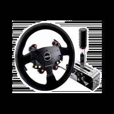 THRUSTMASTER TM Rally Race Gear Sparco Mod - Replique du volant Sparco + frein a main + boite de vi tesse sequentielle + pommeau