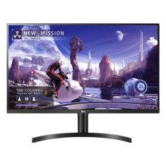 "ECRAN LG 32"" Noir 32QN650-B 16:9 IPS QHD 5ms 2560x1440 350cd/m2 2xHDMI DisplayPort. AMD FreeSync  Inclinaison. Pied Réglable en hauteur"