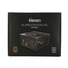 Alimentation PC HEDEN 80 + BRONZE 550W