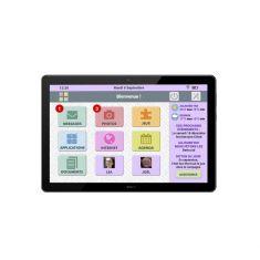 "CDIP Tablette FACILOTAB L RUBIS LENOVO 10.1""Noir 1280x800 Wifi Qualcomm Snapdragon429 32Go Android 9 Webcam HP Facilotab preinstalle"