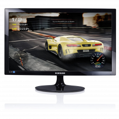 MONITEUR SAMSUNG 24'' LED 16:9 FHD 1 ms  250cd/m² 16.7 MC 1000:1 75Hz VGA HDMI Inclinable - 170°/160° S24D332H