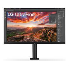 """MONITEUR LG 32"""" LED IPS UHD 16:9 5ms 4K 3840 x 2160 4xHDMI DP USB-C USB 3.0. Ultra fine. Pied ergonomique réglable Noir 32UN880-B"""