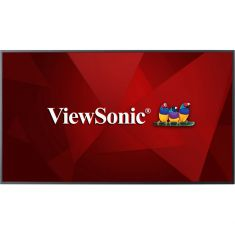 Ecran 50'' ViewSonic LFD 4K LED UHD 16:9 16h/7 16Go 350nit 8ms 4000:1 178/178 VESA 400x400 2xHDMI VGA DVI 2xUSB RS232 Hp:2x10W  CDE5010