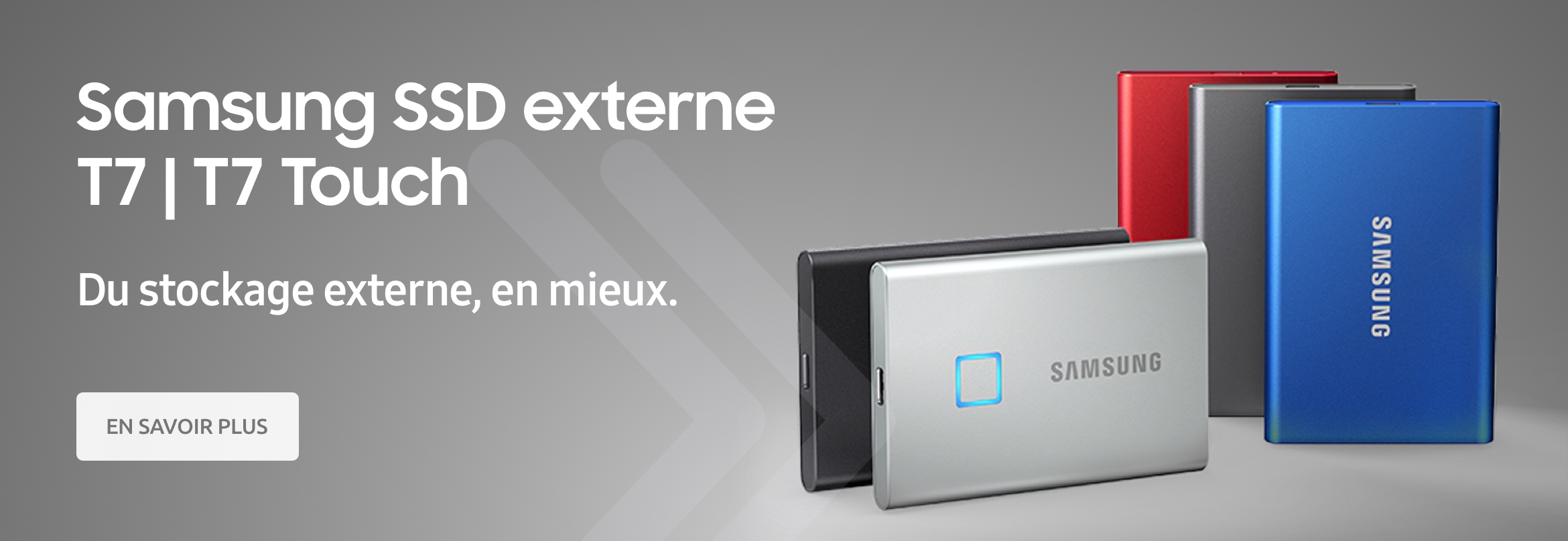 Samsung SSD externe T7 | T7 Touch